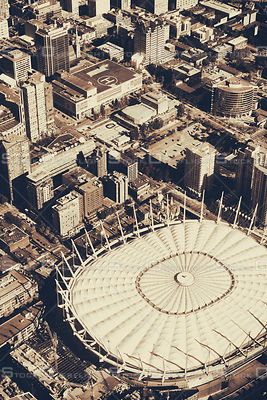 BC Place and Yaletown Vancouver