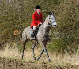 Huntsman John Holliday - The Belvoir at Burton Pedwardine