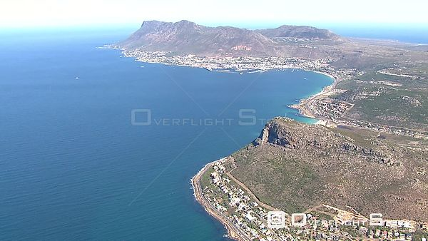 Aerial shot towards Cape Point. Cape Town Western Cape South Africa