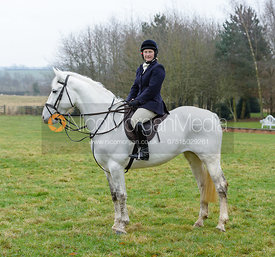 Holly Campbell at the meet at Wymondham
