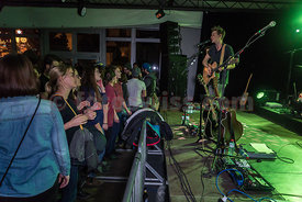 NICKLESS Band im House of Fans in St.Moritz