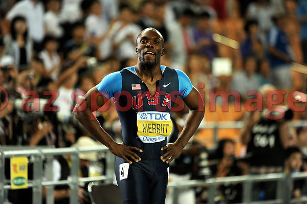 LaShawn Merritt of United States