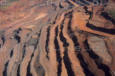 Carajás Iron Mine in Amazon Rainforest Brazil