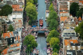Amsterdam - Luchtfoto Canal Parade 26