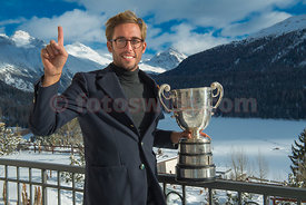 Nico Juelich from St.Moritz (SUI) wins The Curzon Cup on the Cresta Run