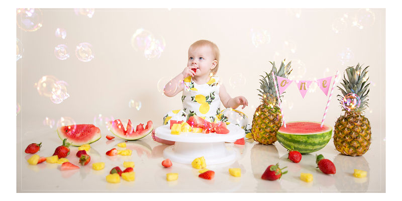1st Birthday Fruit Shoot
