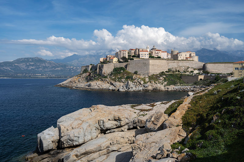 View of the Citadel of Calvi