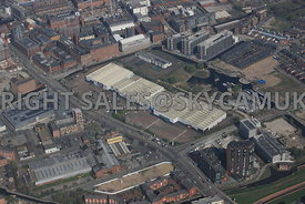 Central Retail Park Great Ancoats New Islington Manchester