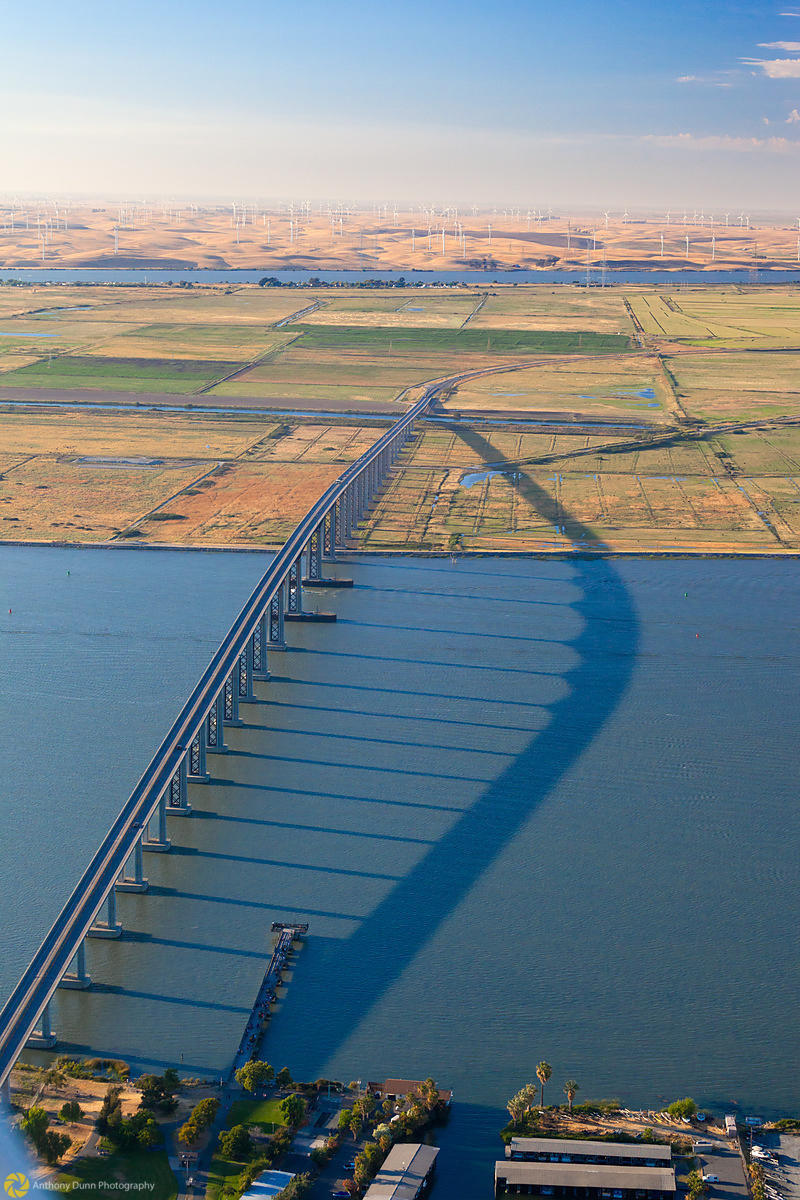 Aerial View of the Antioch Bridge #2