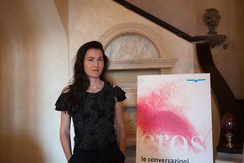 Nicole Krauss at The Conversations, Capri, Naples, Italy. 26/06/2011