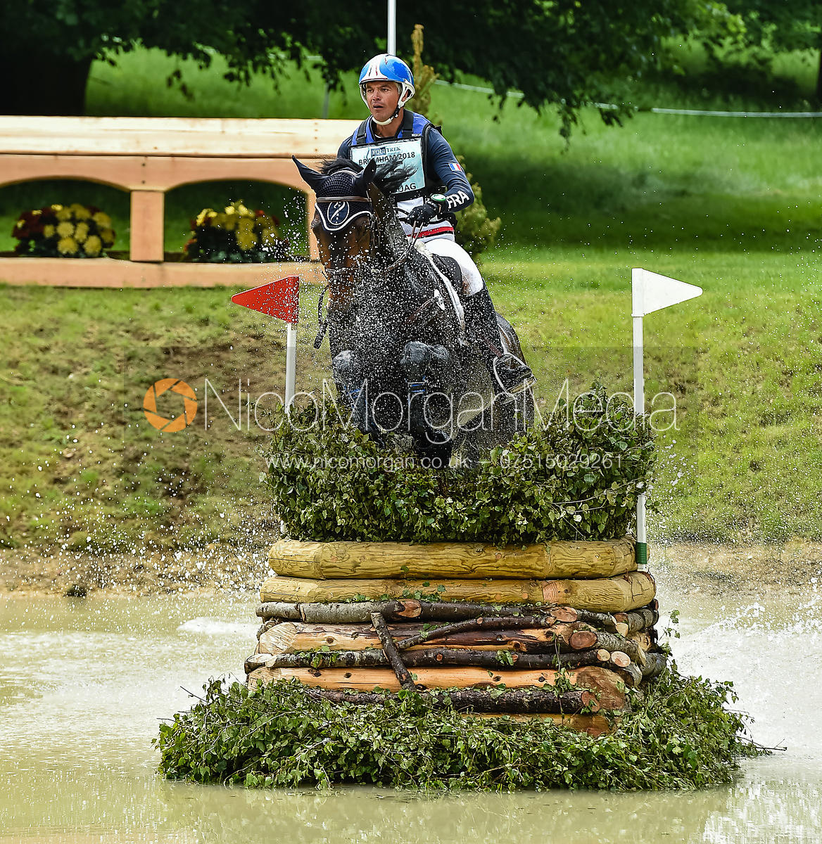 Karim-Florent Laghouag and ENTEBBE DE HUS, Equitrek Bramham Horse Trials 2018