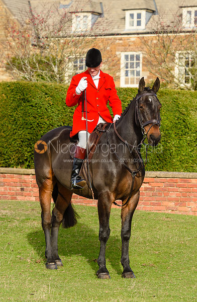 Major Tim Brown, Cottesmore Hunt Opening Meet 2018