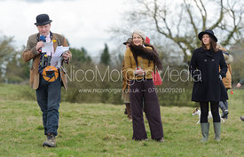 Ed Seyfried, Lady Martha Sitwell, Tibbs Jenkins - Dianas of the Chase - Side Saddle Race 2014.