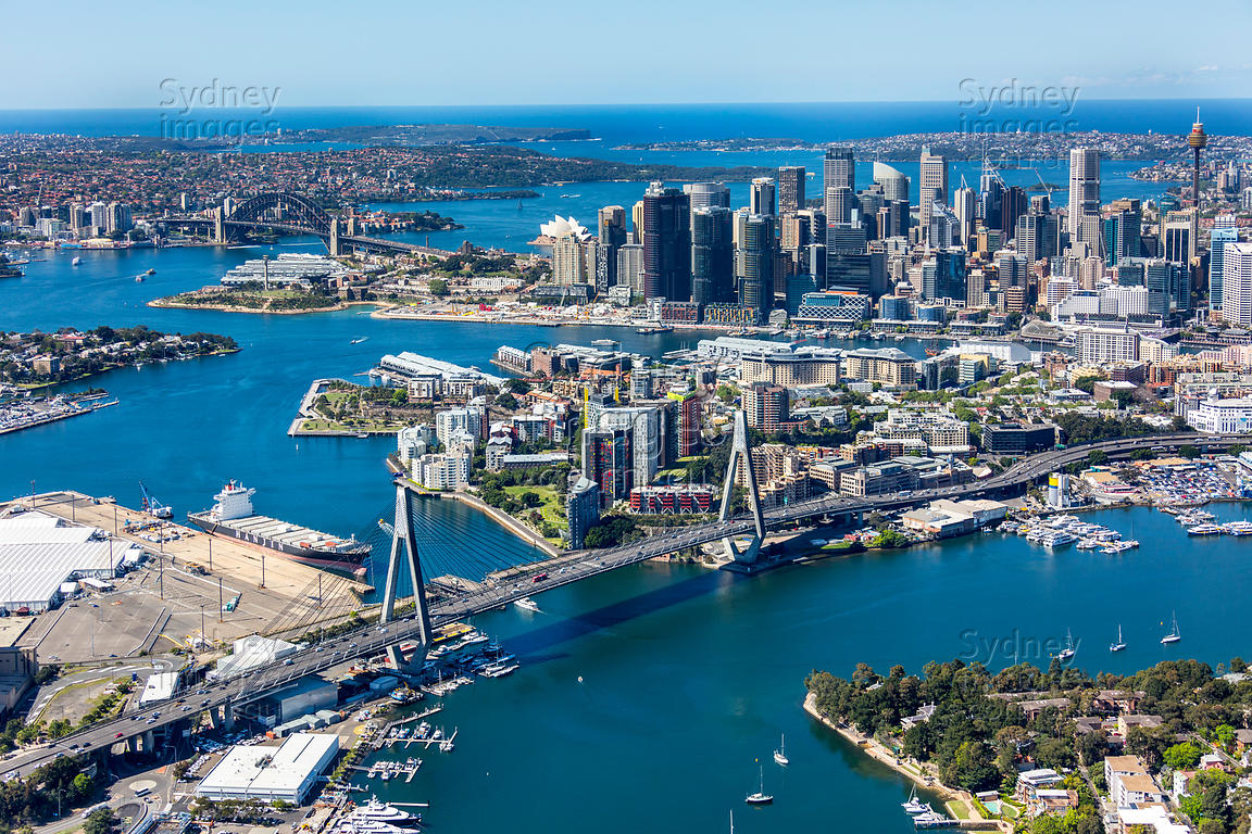 Pyrmont and Sydney