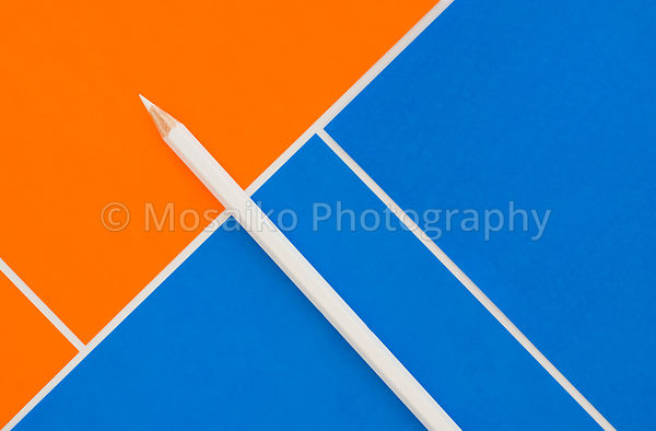 pencil from above
