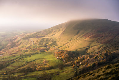 NOVEMBER. Mam Tor  mist- the shivering mountain
