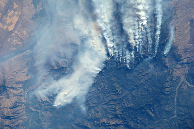 Wildland Fires in Idaho -- 19 Sept. 2012 -- One of the Expedition 33 crew members aboard the International Space Station