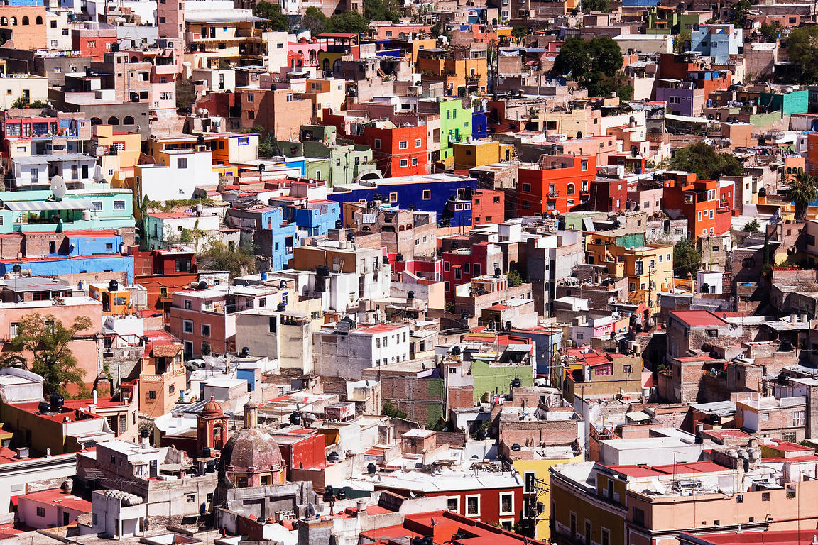 Houses in Downtown Guanajuato