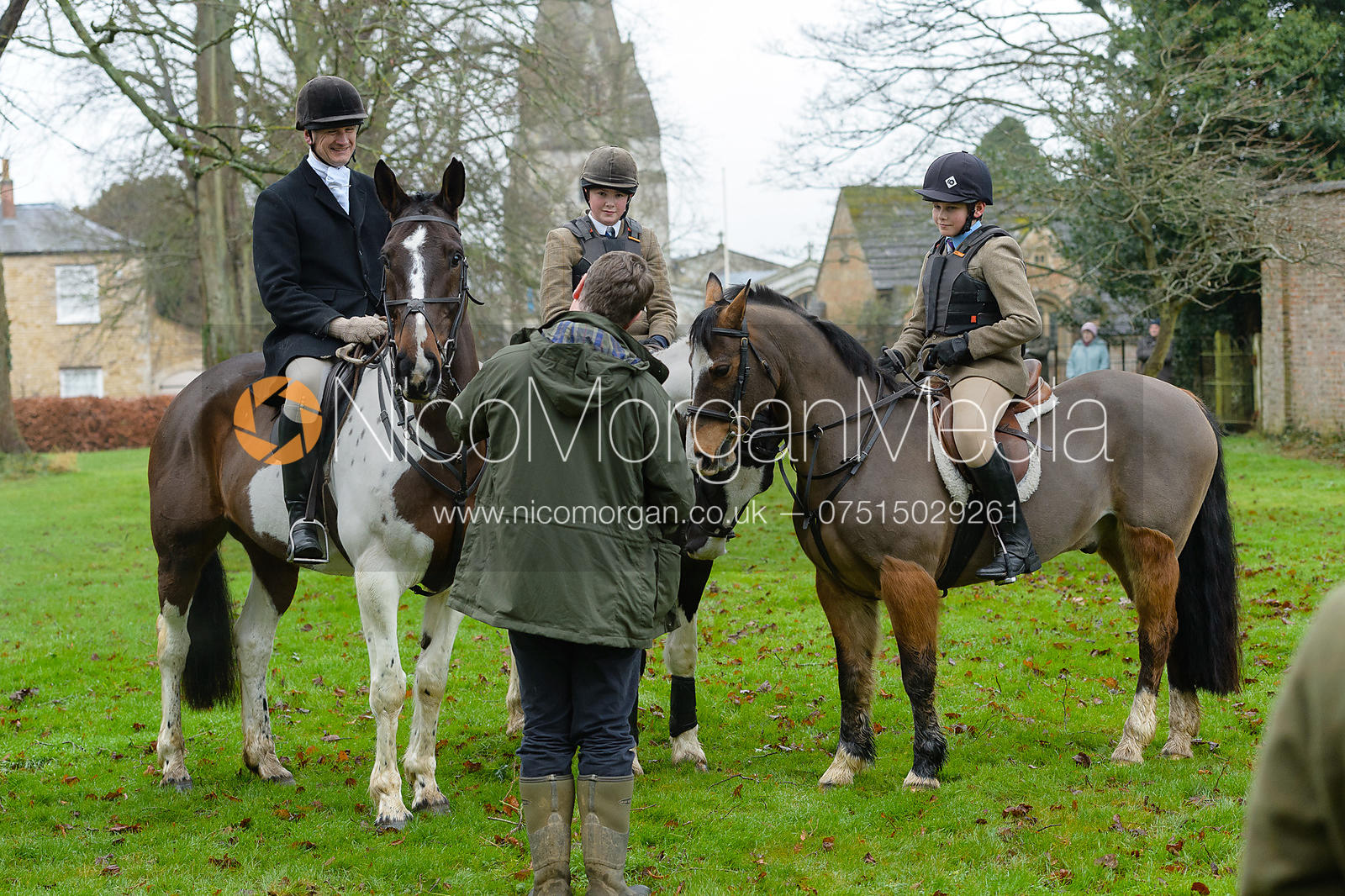 Harry Pepper at the meet at Buckminster