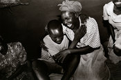 Uganda - Gulu - A young man with obvious trauma is reunited with his mother and sisters