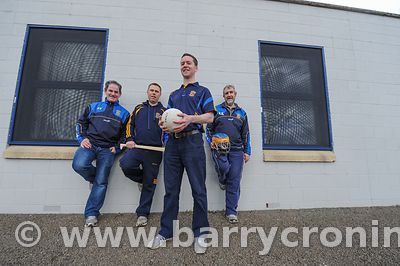 21st April, 2012. Castleknock GFC football nursery, Carpenterstown, Dublin. Pictured from Left: Pierse Tolan (Fundraising), B...