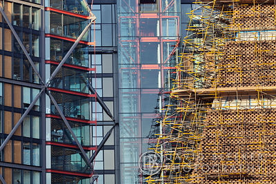 Tate Modern Extension - Scaffolding