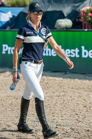 27/07/18, Berlin, Germany, Sport, Equestrian sport Global Jumping Berlin -   Image shows Edwina Tops Alexander. Copyright: Th...