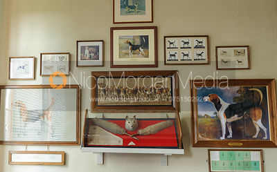 The Duke's Room, Belvoir Hunt Kennels