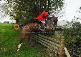 Andrew Osborne MFH - The Cottesmore Hunt at Toft, 31-Oct-13.