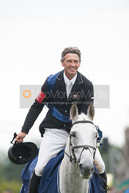 Andrew Nicholson and Avebury - prizegiving ceremony - Land Rover Burghley Horse Trials 2012.