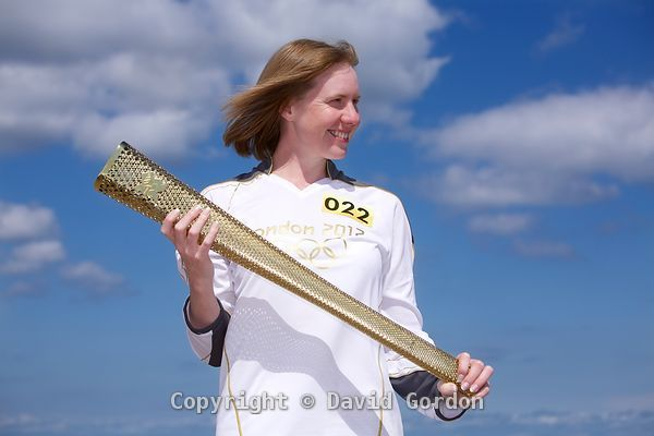 Kirsteen Torrance - Olympic Torch