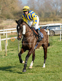 Sophie Walker (MERRYDOWN BLACK) - Race 1 - Conditions race. The Cottesmore at Garthorpe