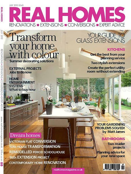July 2012 Cover Story Real Homes