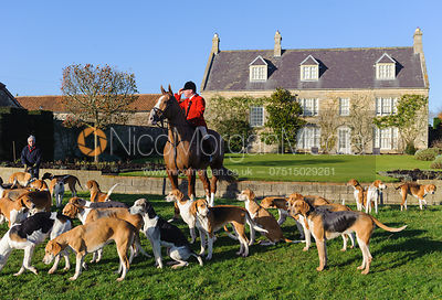The Belvoir Hunt at Stonesby 19/12