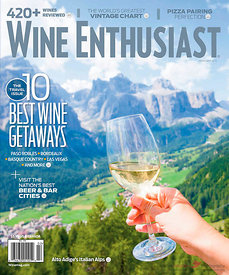 Wine Enthusiast magazine 02-2016 cover