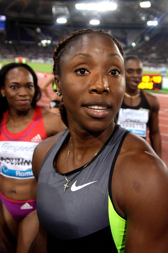 2012 Rome Golden Gala - Rome Diamond League 100m women Shelly-Ann Fraser-Pryce JAM