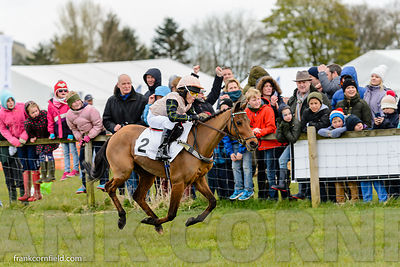 Thomas Bradburne on Doylan Imagination at Balcormo Point-to-Point on 23 Apr 2016.