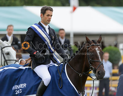 Jonathan Paget and CLIFTON PROMISE - Burghley Horse Trials 2013.