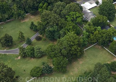 Aerial, Graceland, Memphis, Tennessee