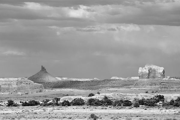 NEEDLES DISTRICT CANYONLANDS NATIONAL PARK UTAH BLACK AND WHITE