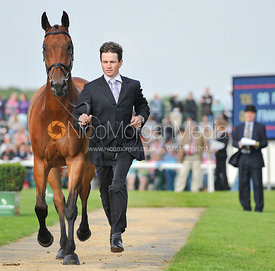 Francis Whittington and Sir Percival III - 2nd Inspection - Burghley 2010