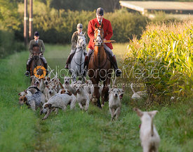 Andrew Osborne MFH and Cottesmore hounds