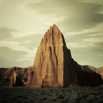 Temple of the Sun, Capitol Reef National Park, Utah