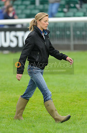 Dee Sankey - dressage phase,  Land Rover Burghley Horse Trials, 6th September 2013.