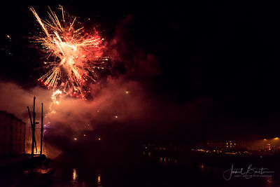 Firework display, Cardigan