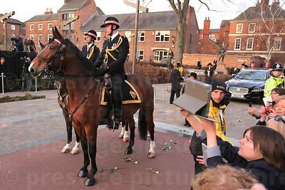 Mounted Police Escort from the City of London Police