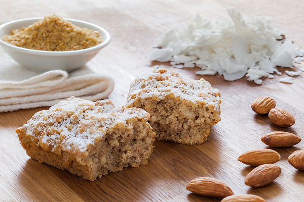 Freshly baked multigrain bars styled and photographed by Sonoma photographer Jason Tinacci