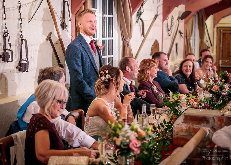 Wedding at Donnington Park Farmhouse Hotel, Isley Walton, Castle Donington, Leicestershire, UK