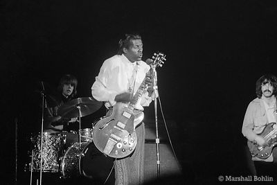 Chuck Berry in 1969 at the Chicago International Amphitheater