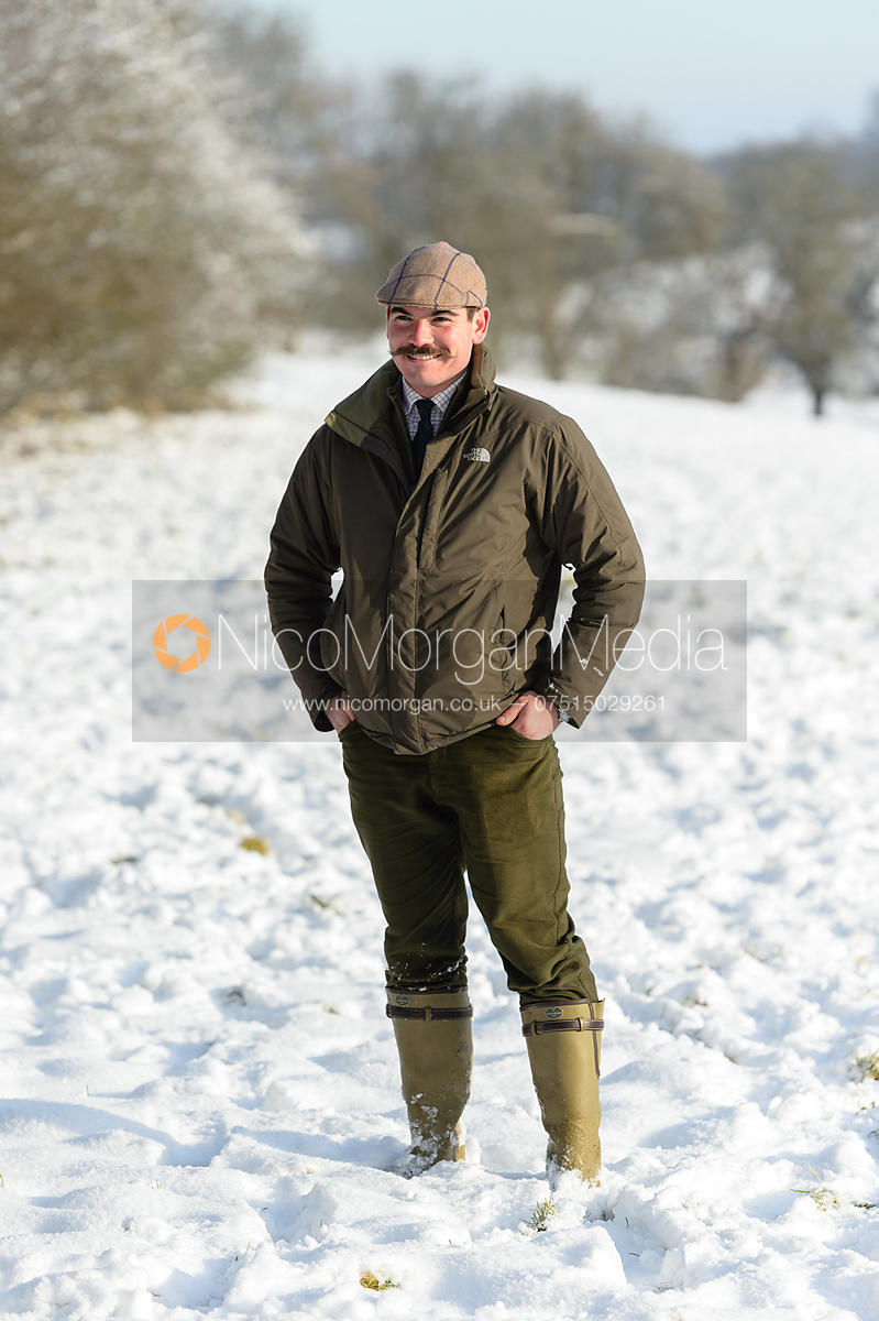 Rob Tonkin - Cottesmore Hound Exercise in Owston Woods